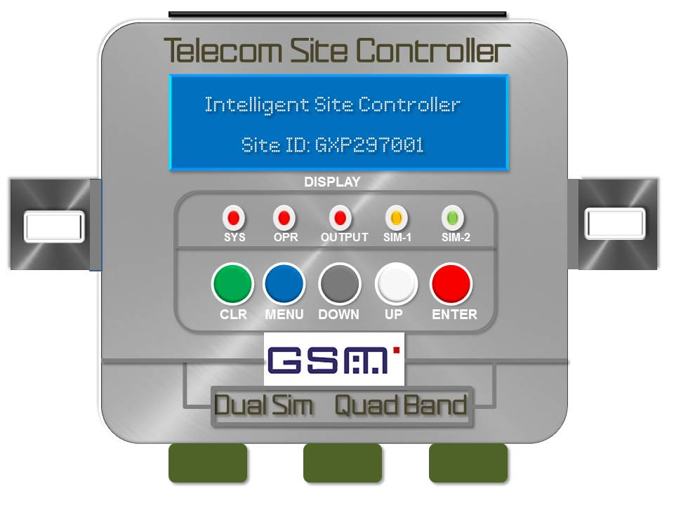 GSM Intelligent Telecom Site Controller (ITSC-5000)