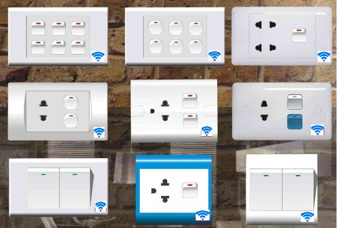 Wireless Power Switches WiFi Ready